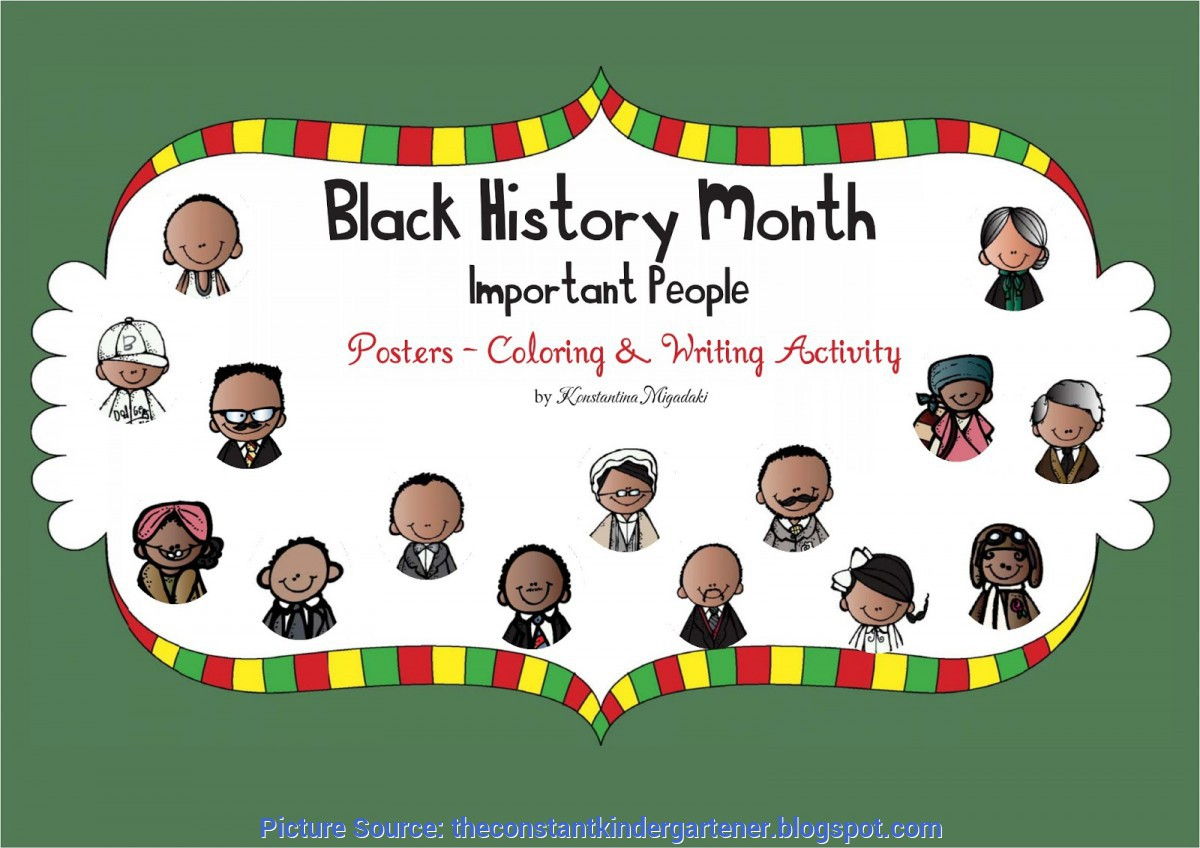 Simple Pre K Lesson Plans On Black History The Constant Kindergartener - Teaching Ideas And Resources Fo