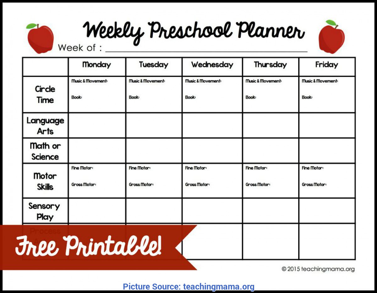 Simple Weekly Preschool Curriculum Weekly-Preschool-Planner-Free-Printable