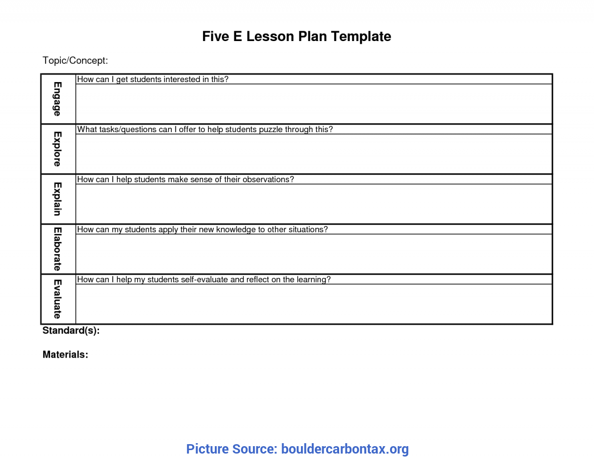 Special Free Cute Lesson Plan Templates Cute Lesson Plan Template… Free Financial Statement La