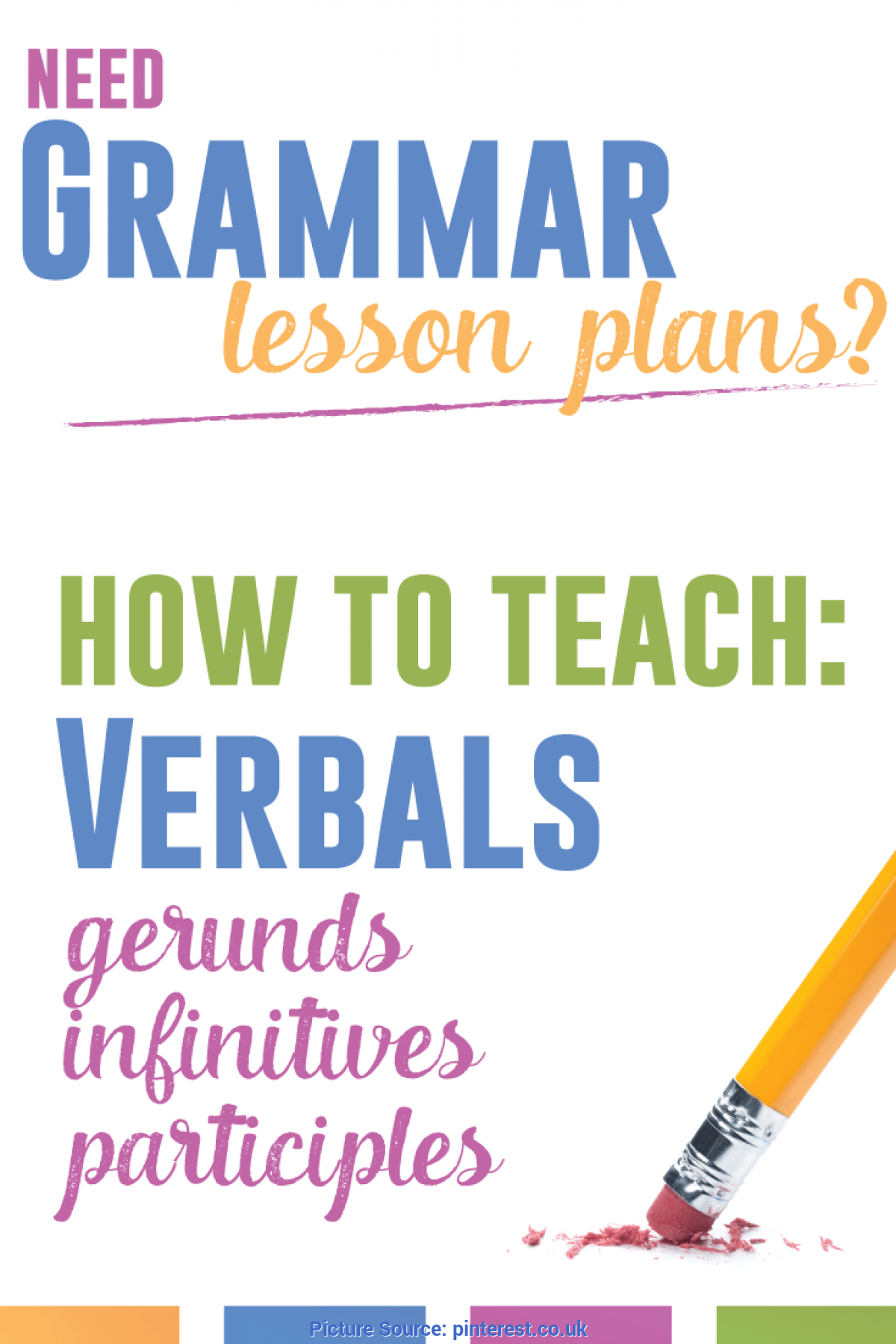 Special Grammar Lesson Plans For High School Students Grammar Lesson Plans: Verbals | Grammar Lessons, Teacher And Ar