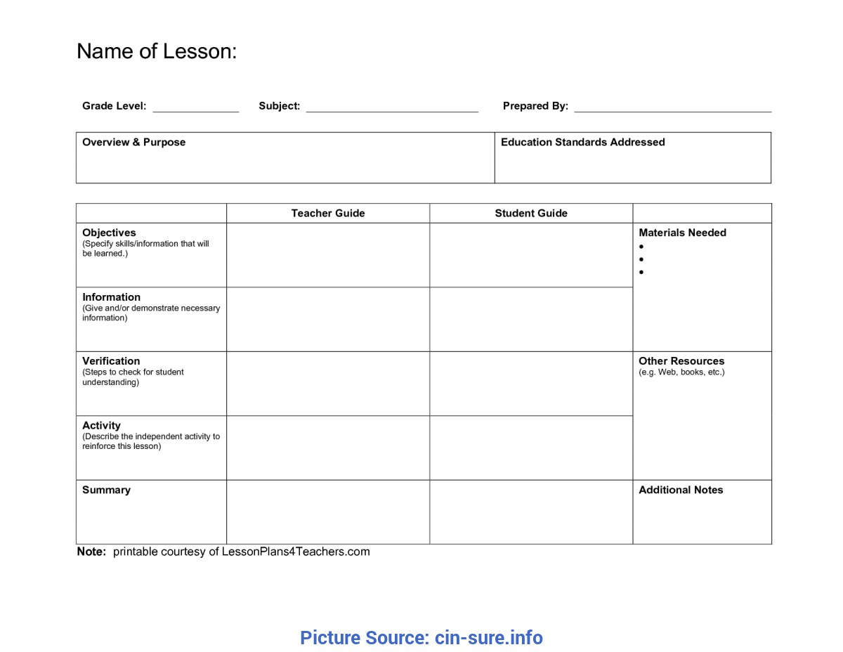 Special Madeline Hunter Itip Lesson Plan Eei Template 137 Free
