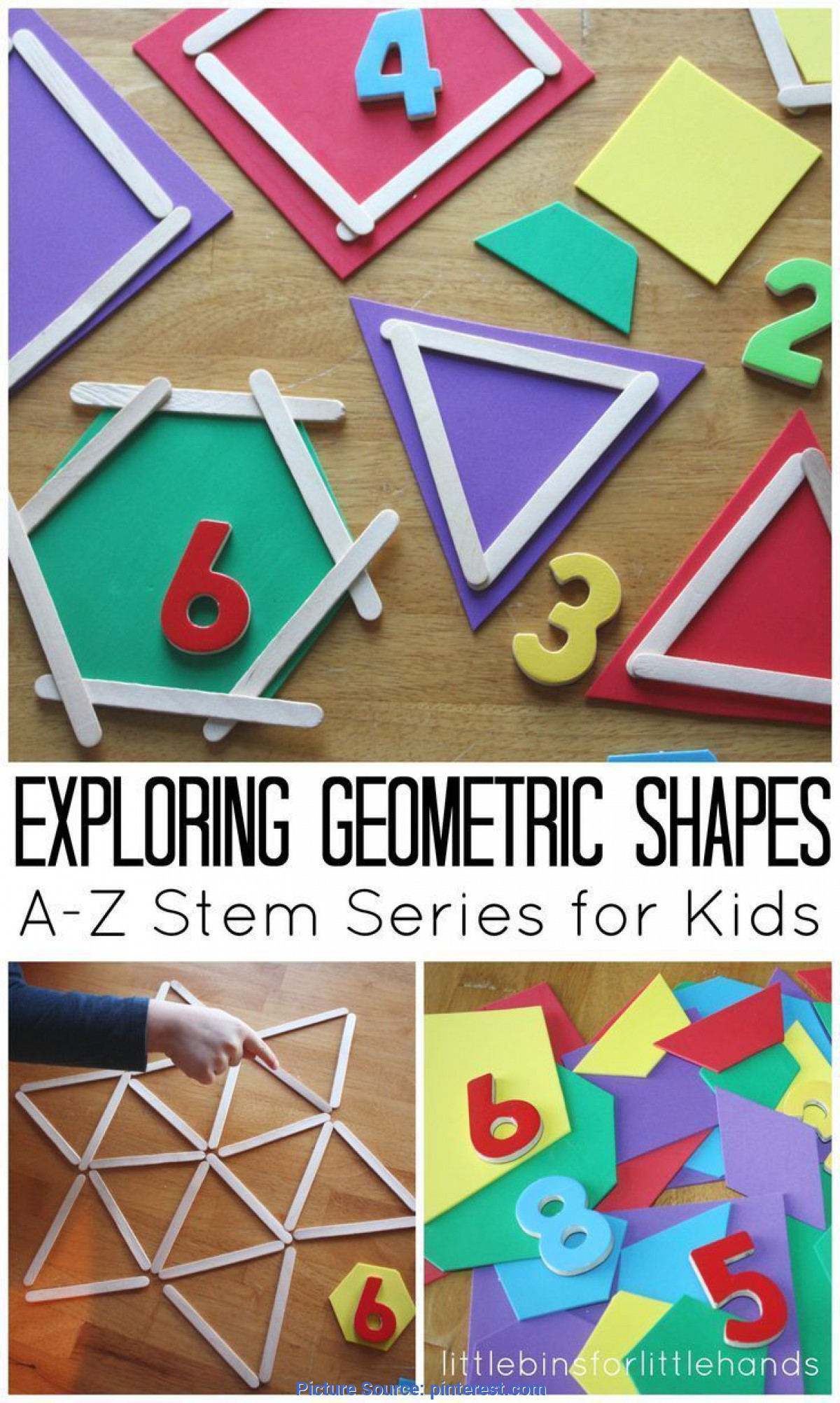 Special Math Shapes Lesson Plans For Preschoolers Geometric Shapes Activity Math And Stem Ideas For Kids | Mat