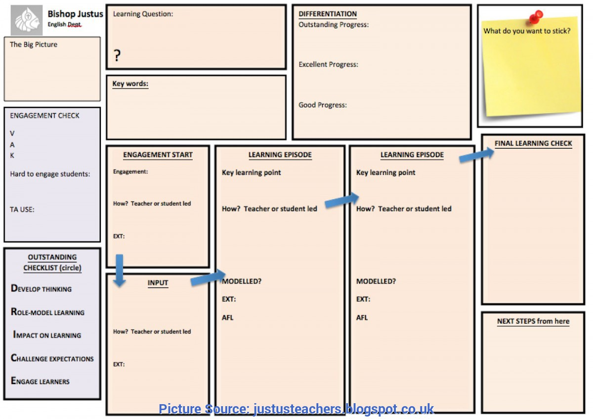 Special Outstanding Lesson Plans New Lesson Plan Temp