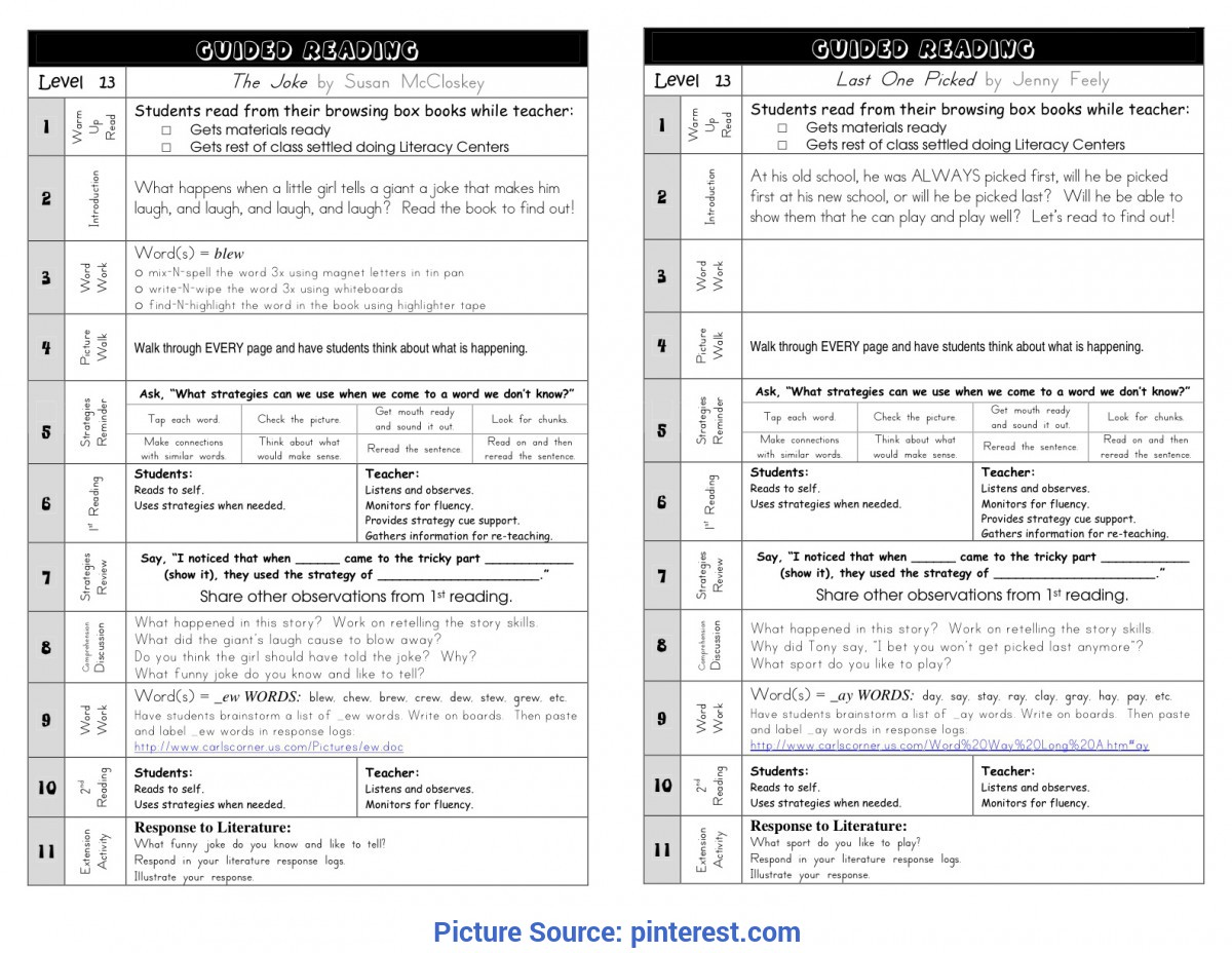 Special Reading Lesson Plan 5Th Grade Great Guided Reading Plan | Guided Reading | Pinterest | Guide