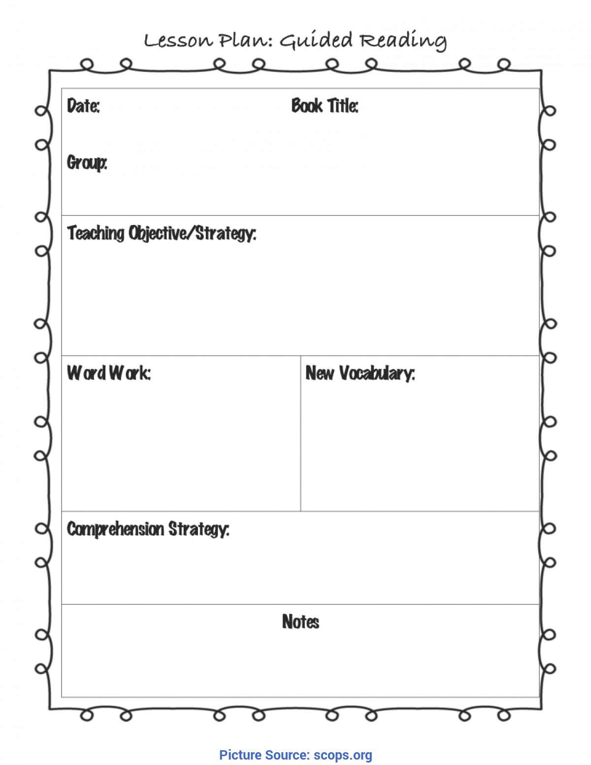 - Special Reading Lesson Plan Preschool Worksheet Printable
