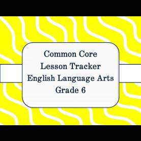 Best 7Th Grade Ela Lesson Plans Common Core Common Core Math And Ela Lesson Plan Organizers For The Middl
