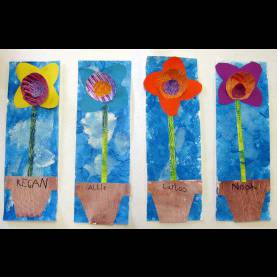 Best Art For Kindergarten Students Cassie Stephens: In The Art Room: Mother'S Day Flower