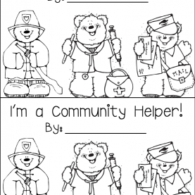 Best Community Helpers Printable Book Rowdy In Room 300: Community Helpers! | Community Helper