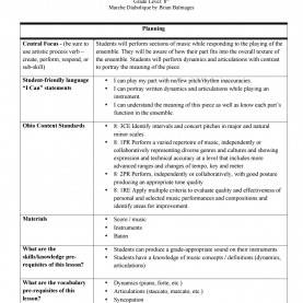 Best Criteria For A Good Lesson Plan Marche Diabolique Lesson Plan By Covolrj - I