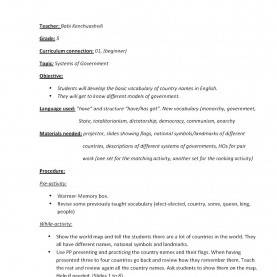 Best English Lesson Plan Of Class 5 English Language Through Civic Education (Elce): Grade 5 Lesso