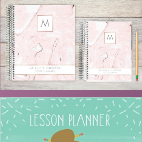 Best Great Teacher Planners 10 Awesome Planners For Teachers | Erin Condren, Lesson Plans