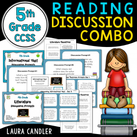 Best Guided Reading Groups 5Th Grade 5Th Grade Ccss Reading Discussion Activity And Task Cards Comb