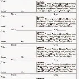 Best Guided Reading Lesson Plan Template Jan Richardson Guided Reading Note Template | Notes Template, Guided Reading An