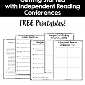 Best Independent Reading Lesson Plans Independent Reading Conferences {A Guide To Getting Starte