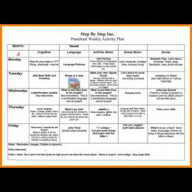 Best Lesson Plan For Preschool Writing 4+ Daily Lesson Plan For Preschool | Cfo Cover Le