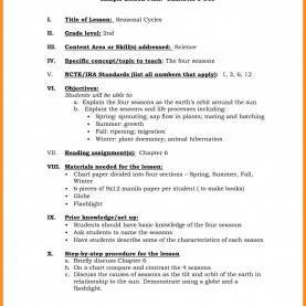 Best Lesson Plan Template Danielson Model Danielson Framework Lesson Plan Template Formal Captures