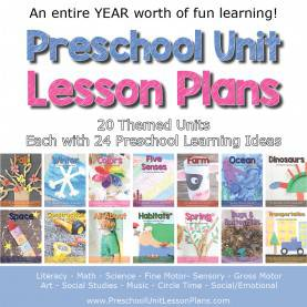 Best Lesson Plan Topics For Preschool Entire Year Of Preschool Lesson P