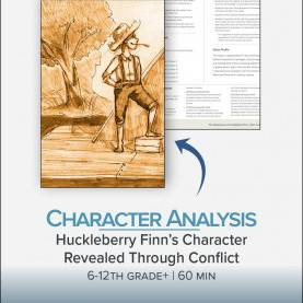 Best Lesson Plans For Teaching Huckleberry Finn Character Analysis: Huckleberry Finn'S Character Revealed Throug