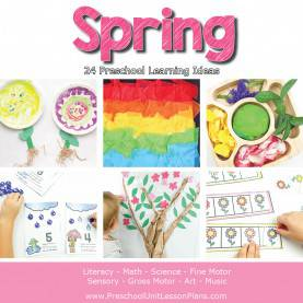 Best Preschool Lesson Plans Literacy Spring Theme Preschool Lesson Plans - Life Ove