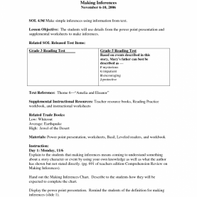 Best Reading Lesson Plan 4Th Grade Worksheets For All | Download And Share Worksheets | Free O
