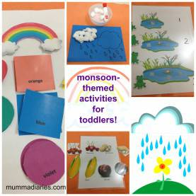 Best Seasons Theme For Preschool Rainy-Season Themed Activities For Toddlers!! - Mumma Dia