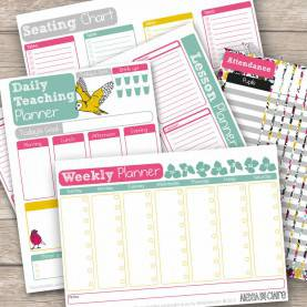 Best Teacher Planner Personalised Teacher Planner, 40 Pages By Alexia Claire | Notonthehighstreet