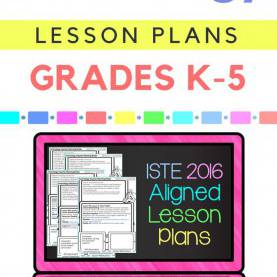 Best Third Grade Technology Lessons Technology Lesson Plans And Activities Grades K-5 Bundl