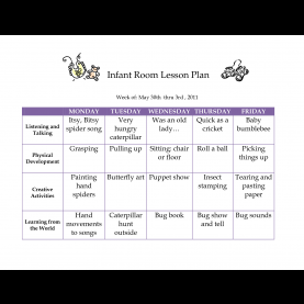 Best Young Infant Lesson Plans Creative Curriculum Blank Lesson Plan | June 2011 Infan