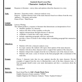 Briliant 3Rd Grade Esl Lesson Plans 3Rd Grade Lesson Plan Template €? Free Template Collect