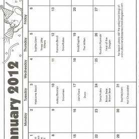 Briliant 4 Year Old Preschool Lesson Plans Discovery Days Preschool: January Calendar And Lesson P