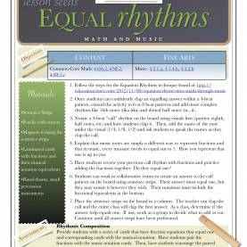 Briliant 5E Lesson Plan Adding Fractions Arts Integration Lesson Plans | Educationcl