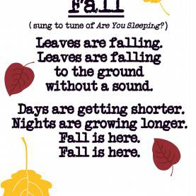 Briliant Autumn Themed Songs Fall Poem Song For Preschool, Kindergarten, First Grade-00
