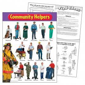 Briliant Community Helpers Name List Amazon.Com : Trend Enterprises Community Helpers Learning Chart (