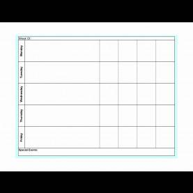Briliant Editable Preschool Lesson Plan Template Editable Weekly Lesson Plan Template Awesome Weekly Lesson Pla
