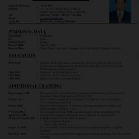 Briliant How To Make A Curriculum Writing A Perfect Curriculum Vitae Sample Cv Hznrkdk How To Mak