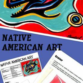 Briliant Junior High Art Projects Native American Art: Art Lesson For Kids | Social Studies, Nativ