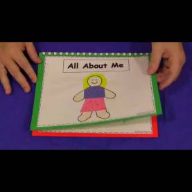 Briliant Lesson Plan For Toddlers On Myself All About Me Book For Preschool And Kindergarten - You