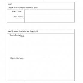 Briliant Lesson Plan Sample With Objectives 44 Free Lesson Plan Templates [Common Core, Preschool, Wee