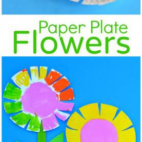 Briliant Lesson Plans For Toddlers Spring Paper Plate Flower Craft For Kids | Scissor Skills, Flower Craft
