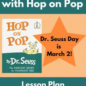 Briliant Pre-K Rhyming Lesson Plans Ready To Rhyme With Hop On Pop | Ccss.Ela-Literacy.Rf.K.2.A Lesso