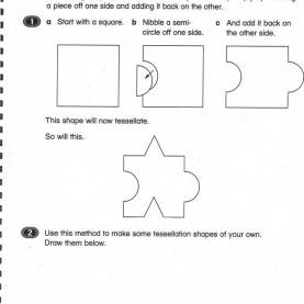 Briliant Tessellation Lesson Plan Elementary Art Sketchbook Ideas Easy How-To Tessellate Workshee