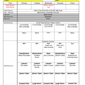 Briliant Unit Plan Calendar Template Blank Weekly Lesson Plan Temp