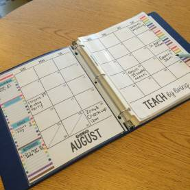 Briliant What Is The Best Teacher Planner A Modern Teacher Planner Giveaway! | Mrs. Stanford'S C