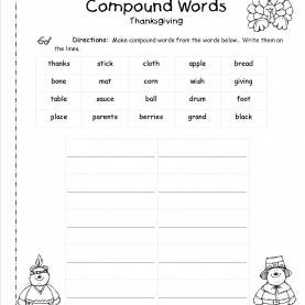 Complex 2Nd Grade Lesson Plans For Compound Words Worksheets For All | Download And Share Worksheets | Free O