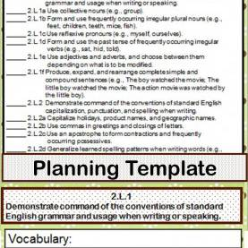 Complex 2Nd Grade Lesson Plans Using Common Core Standards 2Nd Grade Ela Common Core Checklist - Lesson Planning For