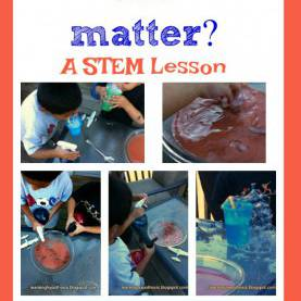 Complex 5E Lesson Plan On Matter What Makes Up Matter? Stem Education Using 5E Les
