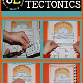 Complex 5E Lesson Plan Plate Tectonics Plate Tectonics: Earth Science Interactive Notebook Covers Th
