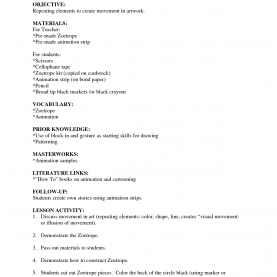 Complex 5E Lesson Plan Science 2Nd Grade Visual Arts Lesson Plan Template | Visual Arts Lesson Pla