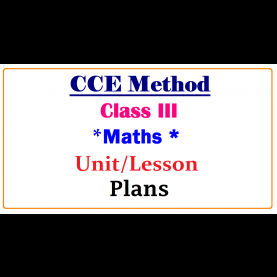 Complex Cce Model Lesson Plans For Maths Cce Method Class3 Maths Subject Unit / Lesson Plans ~ Ts Dsc Tr
