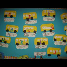 Complex Class Activities For Kindergarten Mrs. Jump'S Kindergarten Class- August: Wheels On The Bus Nam